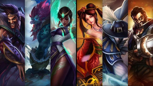 Champion Sale for Your LOL Account