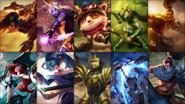 Champion Rotation for Your LOL Account