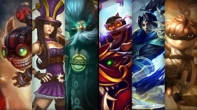 champion skins on your LoL account