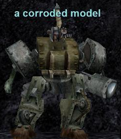 corroded model for everquest platinum