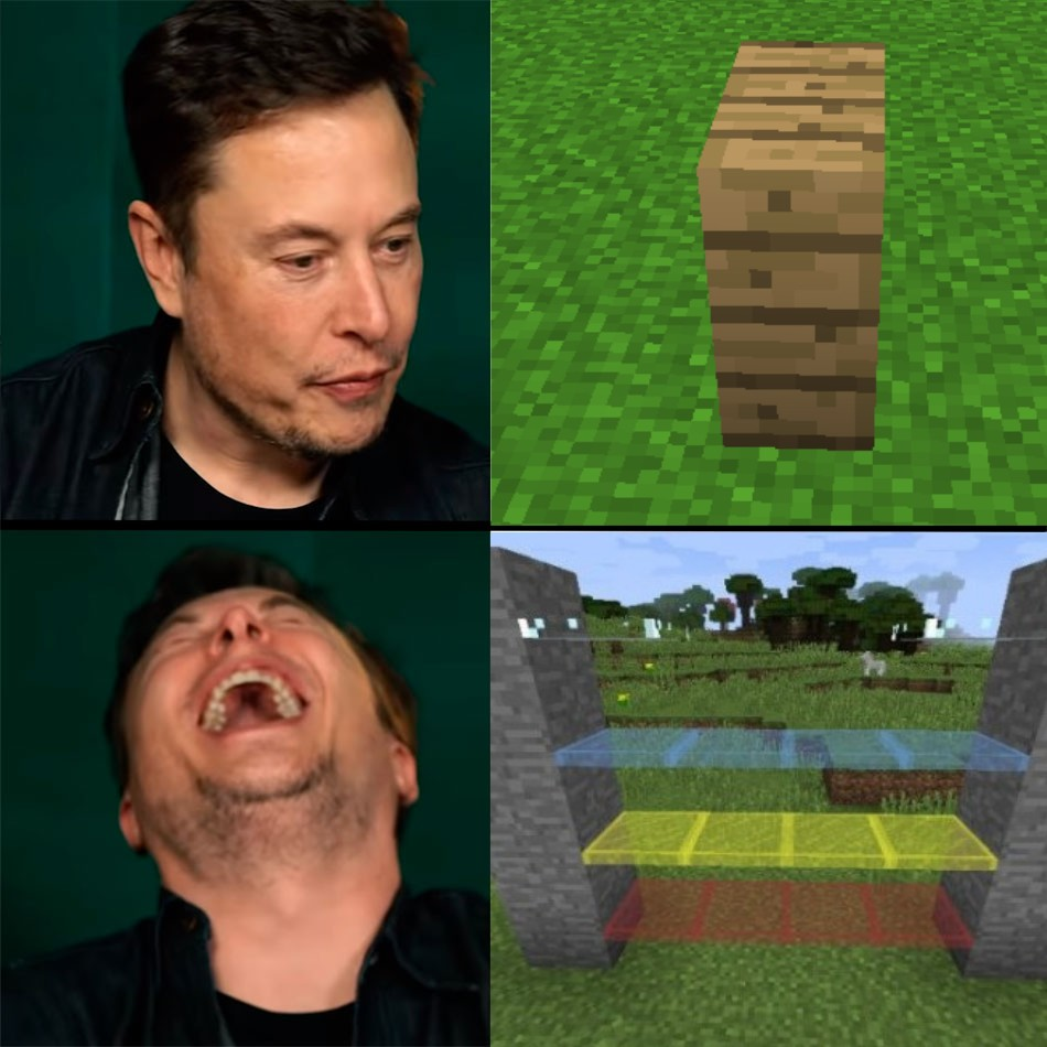 Minecraft is good, and Terraria is good