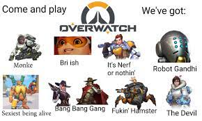 Come and Play Overwatch